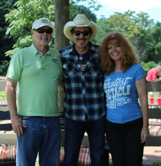 One of our personal highlight of the day was meeting Kix Brooks (Brooks and Dunn). He stated he is a horse lover but can't believe the wonderful healing Jennifer does with the equine because every time he gets on a horse it seems like it is trying to kill him! LOL